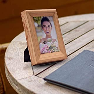 Kookee™ Girl with Flower Wooden Photo Frame 5 x 7 (13 x 18 cm)