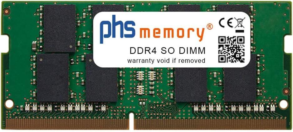 PHS-memory 32GB RAM módulo Adecuado/Adecuada para MSI Thin GF63 10SC-471XPL DDR4 SO DIMM 2666MHz PC4-2666V-S