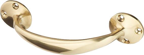 Merriway® BH01753 Front Fix Bow Deur Handvat, 150mm (6 inch) - Gepolijst messing