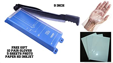 TCL India Solid Paper Cutter Trimmer Cutters By Harison 9 Inch Support A4 All Photo Paper Cutting