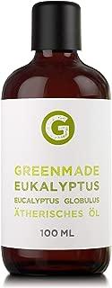 Eukalyptusöl 100ml - 100% naturreines, ätherisches Öl von greenmade
