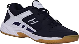 HINDON Smash Badminton Shoes Sabarlon PU Unisex (Non Marking)