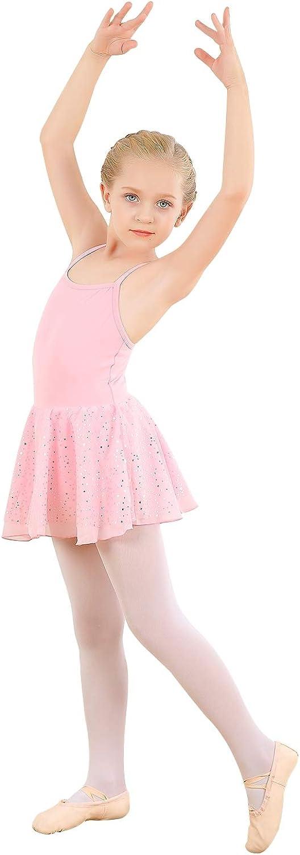 Girl's Camisole Phoenix Mall Dress Cotton Ballet Dance T Glitter Austin Mall Leotard with