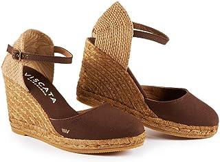 681d0ab2e86a Amazon.com  Brown - Platforms   Wedges   Sandals  Clothing
