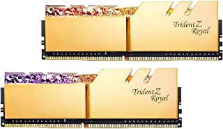 G.SKILL 64GB(2 x 32GB)Trident Z RoyalシリーズSDRAM DDR4 3200MHz PC4-25600デスクトップメモリモデルF4-3200C16D-64GTRG