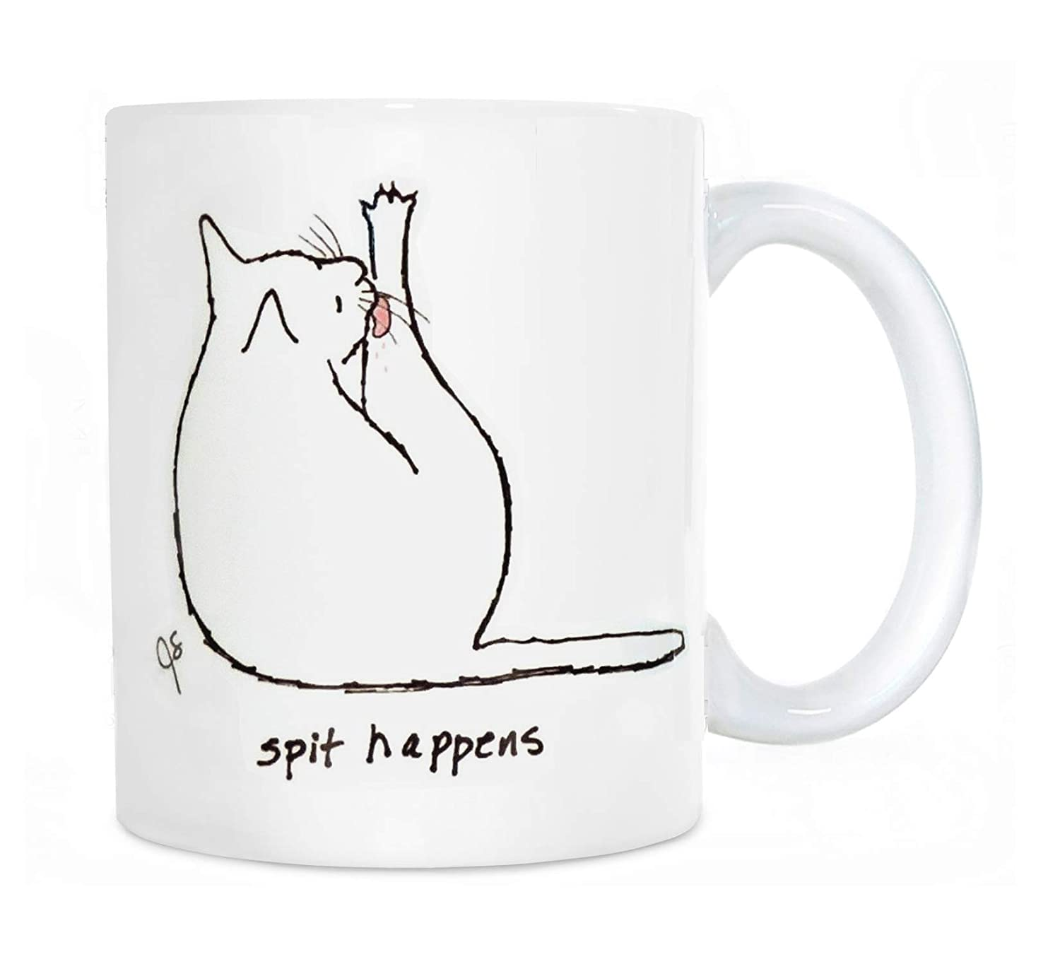 Dealing full price reduction Cat New product!! Coffee Mug Humor Choose Includes Custom Tex Color