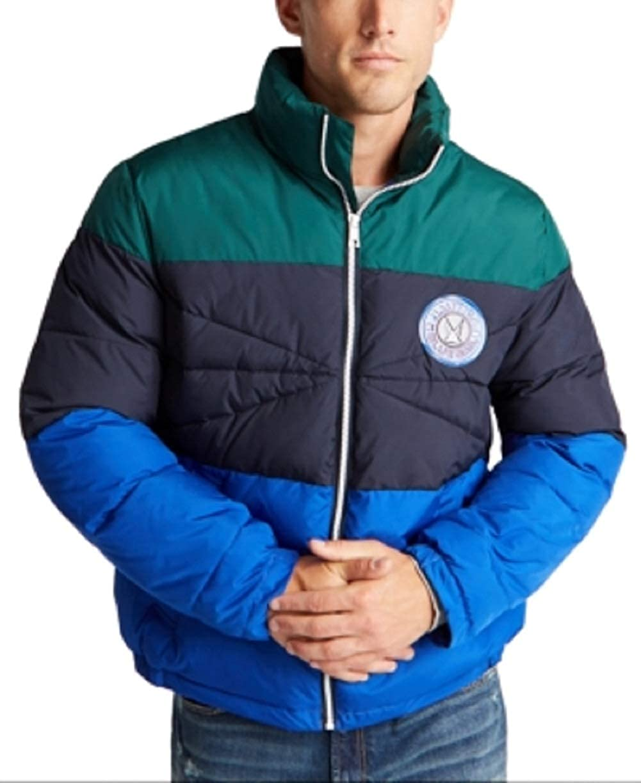 Nautica Men's Blue Sail Tempasphere Insulated Colorblock Jacket, 2XL