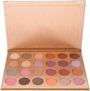 24 Colores de Sombra de Ojos Mate Paleta de Maquillaje Sombra de Ojos Herramienta Cosmética