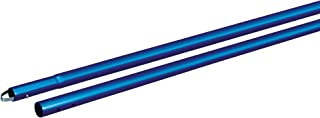 Kraft Tool CC289SB Anodized Aluminum 1-3/4-Inch Swaged Button Handle, 72-Inch, Blue