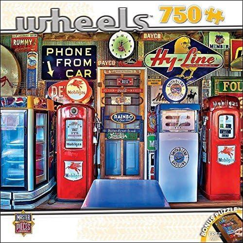 barato MasterPieces Wheels Collection Classic Gas Puzzle (750 Piece) Piece) Piece) by MasterPieces  respuestas rápidas