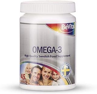 BeVital | Omega-3 | Omega 3 kapslar | Fiskolja kapslar | Omega 3 kosttillskott | Omega 3 fiskolja | Svensktillverkat av To...