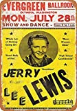 CDecor Jerry Lee Lewis in Olympia Blechschilder, Metall