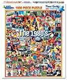 White Mountain Puzzles The Eighties - 1000Piece Jigsaw Puzzle