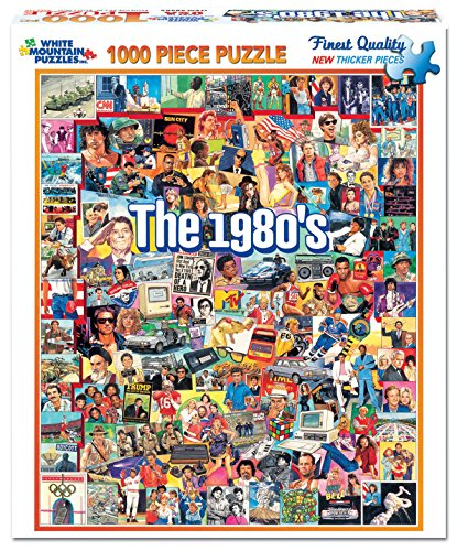 The 1980s Jigsaw Puzzle (1000 Piece)