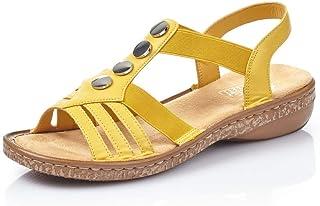 Rieker Sandalette (60467) gelb ab 38,00 € | Preisvergleich