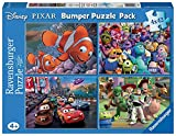 Disney Pixar - Bumper Pack, Puzzles 4 x 42 Piezas (Ravensburger 07023)