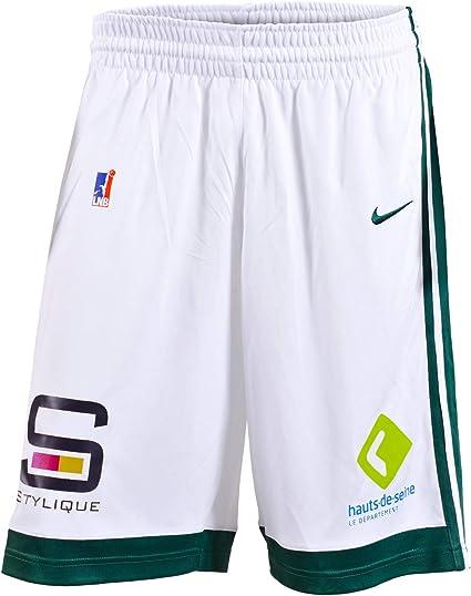 Nanterre 92 Nanterre Short Officiel Domicile 2019-2020 Nanterre Short Officiel Domicile 2019-2020 Mixte Short de Basketball