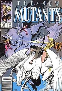 New Mutants (1983 series) #56 NEWSSTAND