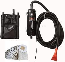 Bonus-Includes 10 Extra Bags - Metro Vac Vac N Blo Pro Commercial Series - Pro83BA-CS car detailing dryer and vacuum. Includes 30 foot hose