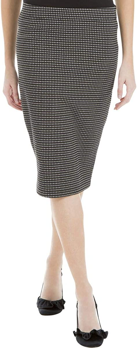 Max Studio London Womens Pull On Pencil Skirt
