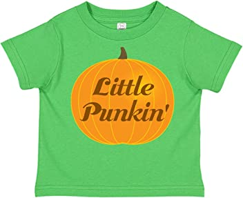 inktastic Trick or Treat Girl with Pumpkin and Blonde Hair Toddler T-Shirt