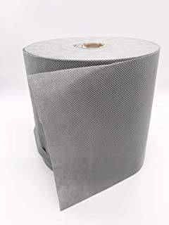OLY Fun Multi-Purpose 19Cm X 100 Meter Polypropylene Spunbonded Non-Woven Fabric Filter 70g Washable Reusable Breathable Gray