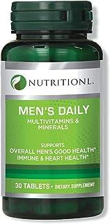 Nutritionl Men'S Daily Multivitamins 30 Tablets