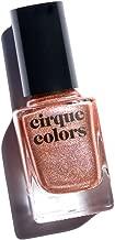 Cirque Colors Holographic Nail Polish - Himalayan Pink - Rose Gold Metallic - 0.37 fl. oz. (11 ml) - Vegan, Cruelty-Free, Non-Toxic Formula