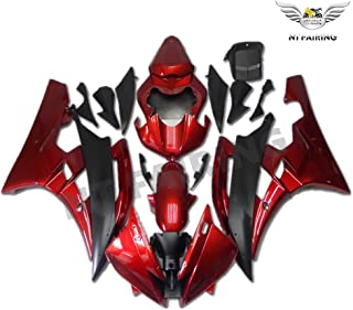 NT FAIRING Red Black Injection Mold Fairing Fit for Yamaha 2006 2007 YZF R6 New Painted Kit ABS Plastic Motorcycle Bodywor...