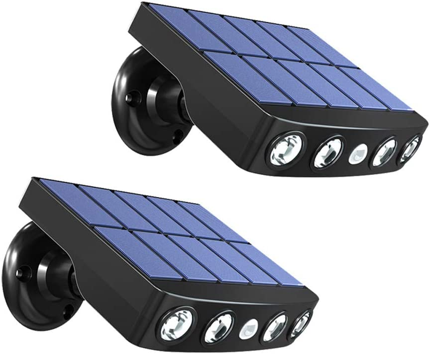 Dedication Solar Outdoor Motion Sensor Lights Wall La Security 1 year warranty LED Wireless