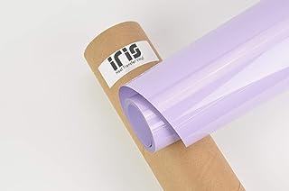 ESSMO\u2122 Lilac Purple Matte Solid Heat Transfer Vinyl HTV Easy To Weed Sheet Roll T-Shirt 20 Wide Iron On Heat Press DP33