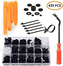 DKIIGAME 415pcs Car Retainer Clips and Trim Removal Tools,Plastic Fasteners Kit for Toyota GM Ford Honda Acura Chrysler