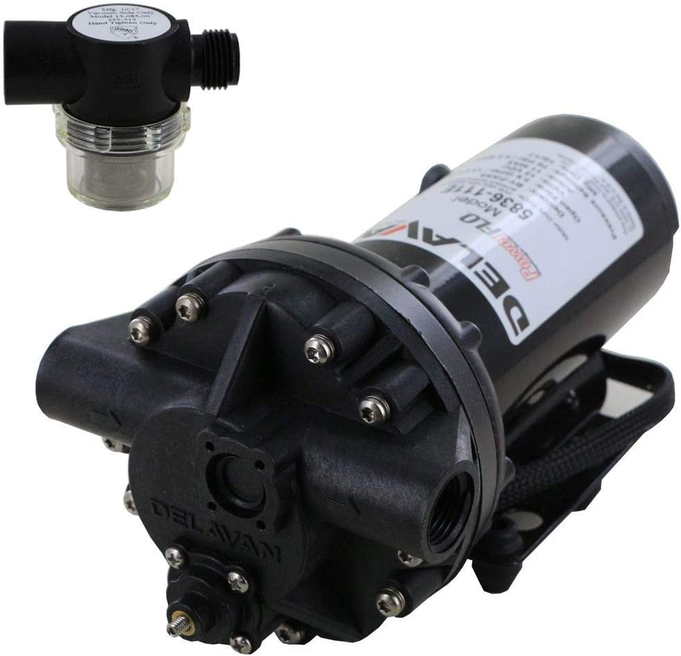 Delavan 5836-111E Industry Year-end gift No. 1 PowerFlo 12V Bypass Pump Shurfl Diaphragm with