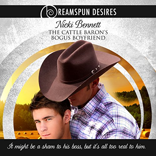 The Cattle Baron's Bogus Boyfriend audiobook cover art