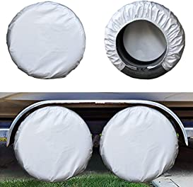 Explore tire covers for RVs