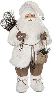 Sullivans Santa With Bag Figurine, Multi-color