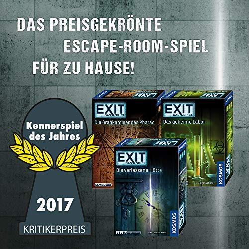 """KOSMOS Spiele 694043 -"""" EXIT – Spiel: drei ??? – Haus Rätsel"""" Brettspiel - 6"""