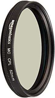 Amazon Basics - Filtro polarizador circular - 52mm