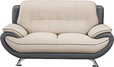 Amazon.com: OFM 2202-MDN Morph Series Soft Seating Sofa ...