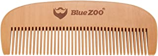 The Gentleman's Beard Wooden Comb, Pearwood Anti-static Grooming Comb, Portable Men's Comb Kit Mustache Hair Care Brush Shape Tool
