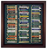 96 Golf Pencil Display Case with Acrylic Cover (Cherry)