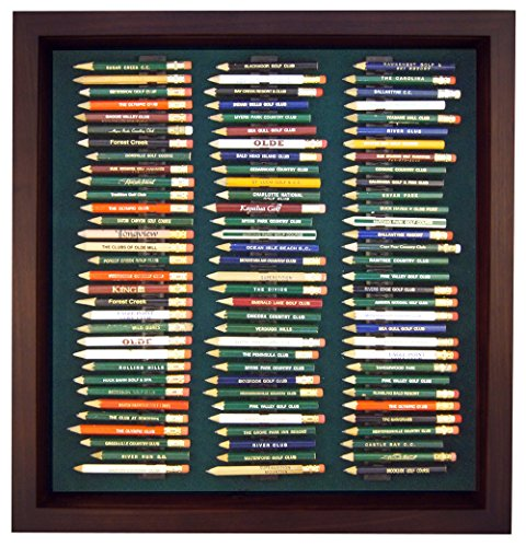 Golf Pencil Display Case with Acrylic Cover