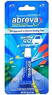 Abreva Cold Sore/Fever Blister Treatment 2g (Pack of 6)