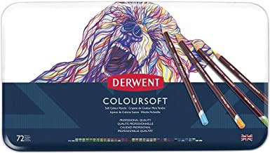 DERWENT(R) 701029 COLOURSOFT Pencils, TIN of 72