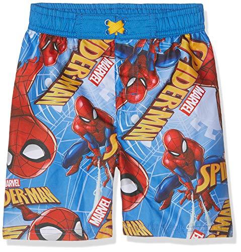 Spiderman Jungen 5543 Boxershorts, Blau (Bleu Bleu), 6 Jahre