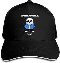 Video Game Undertale Characters Sans Men Women Baseball Hat Black