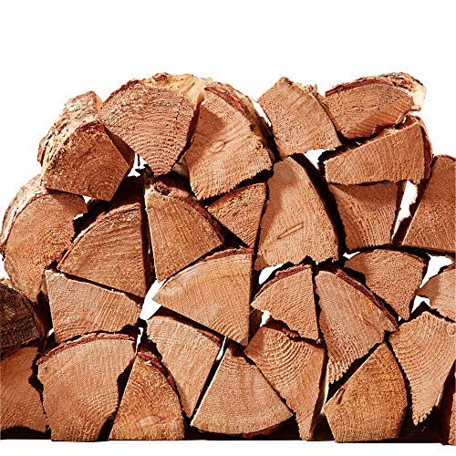 Softwood Firewood Logs 15kg Net of Kiln Dried Chunky Logs - Jumbo 60 Litre Net, 25cm Long. Soft Wood for Wood Burners, Stoves, Log Burners - 50% More Logs Than Hardwood for Same Price. Fast Delivery