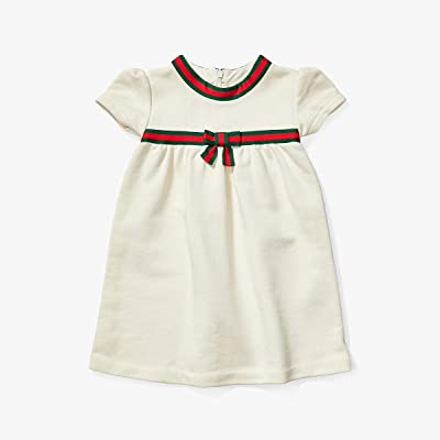 Gucci Kids Jersey 478384X9A79 (Infant) (White/Shamrock/Bred) Girl