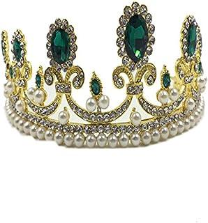 إكسسوارات مجوهرات ماكسي للعطلة من ماكسماكسي بتصميم تاج ملكة ملكي للبنات، إكسسوارات فساتين زفاف فاخرة بتصميم ماسي