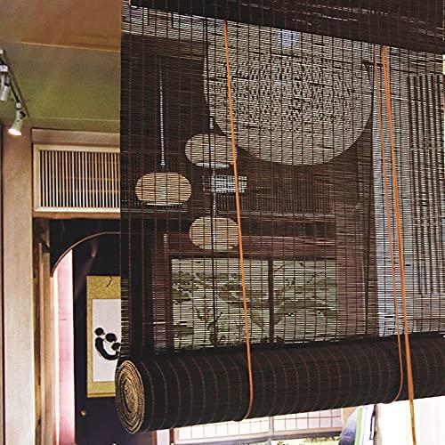 SXNYC Tenda Bamboo, Resistente alle Intemperie, Impermeabile, per Interni, Finestre, Balconi, Personalizzabile